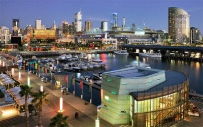 View of CBD from Docklands